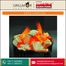 Brick Shaped Shisha Charcoal by Famous Exporter at Low Price