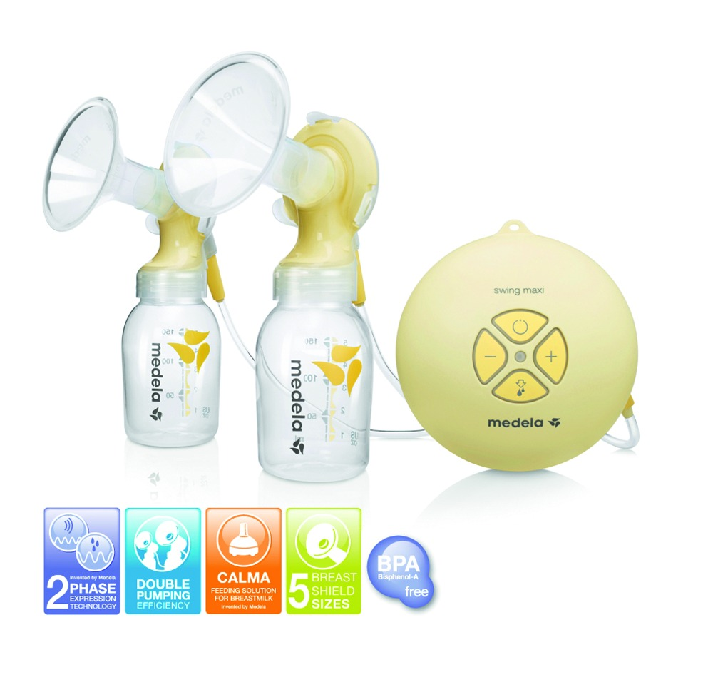 Medela electrical double pump Swing maxi