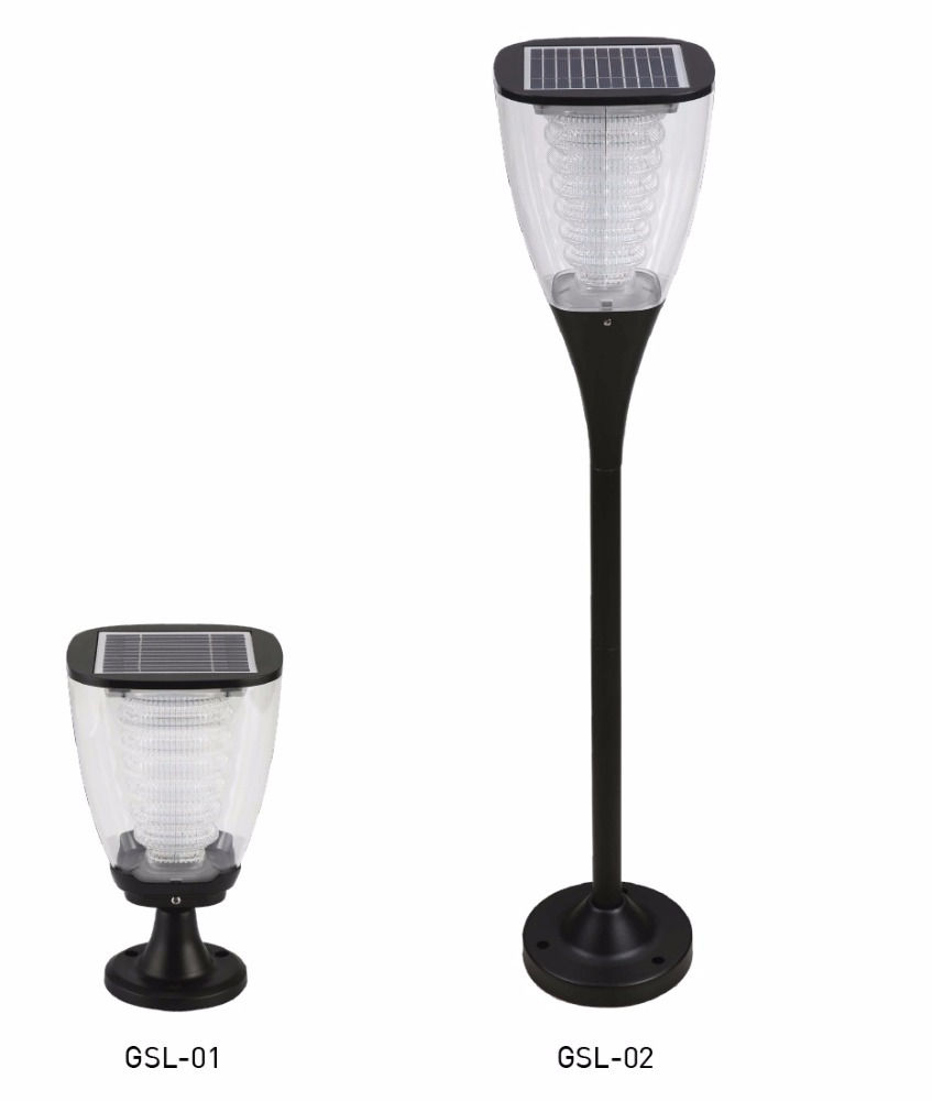 EVE LED solar cell GSL-01 GSL-02 1.6W IP65 LED solar cell lawn lamp LED solar garden lamp