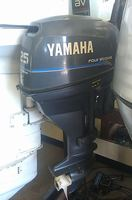 USED YAMAHA 25 HP 4 STROKE OUT BOARD MOTOR
