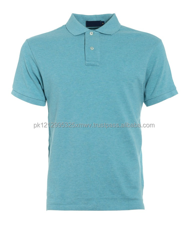 Fashion New Design 100% Cotton Men Pique Polo Shirt