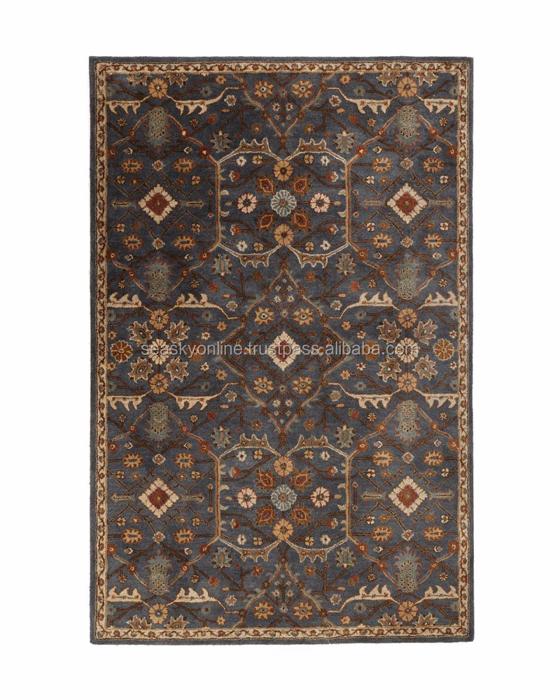 Traditional Persian Design Hand Tufted Wool Rugs Custom Carpets And Rugs