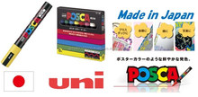 Hot-selling and Easy to use Marking Pen Mitsubishi Uni POSCA pen at reasonable prices small lot order available