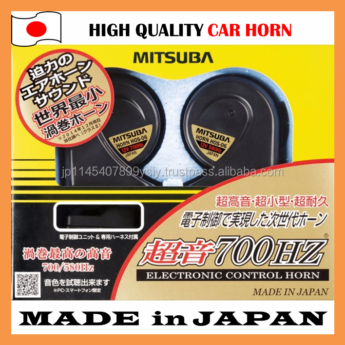 Award-winning hot-selling Japanese car horn available in various types