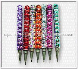 Lac Beaded Handmade Pens