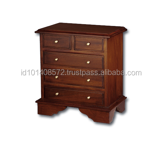 Luxury Mahogany Living Room Cabinet Organizer Herb Small B - Jepara Indoor furniture
