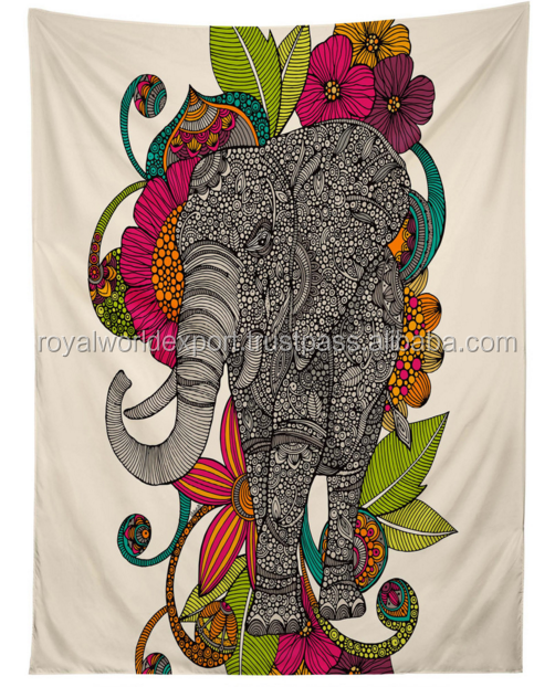 home decorative chinese custom made tapestry for wall hangings Twin Tapestry custom printed Tapestry from India vintage wall
