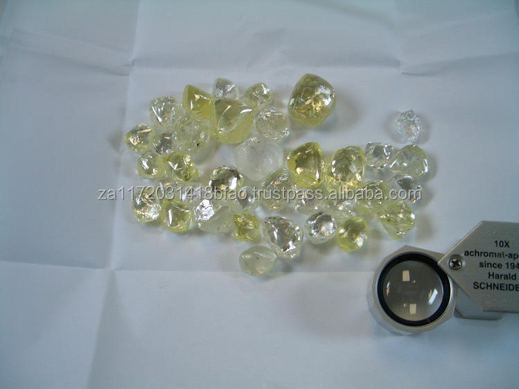 %100 Natural Rough Uncut Diamonds For Sale