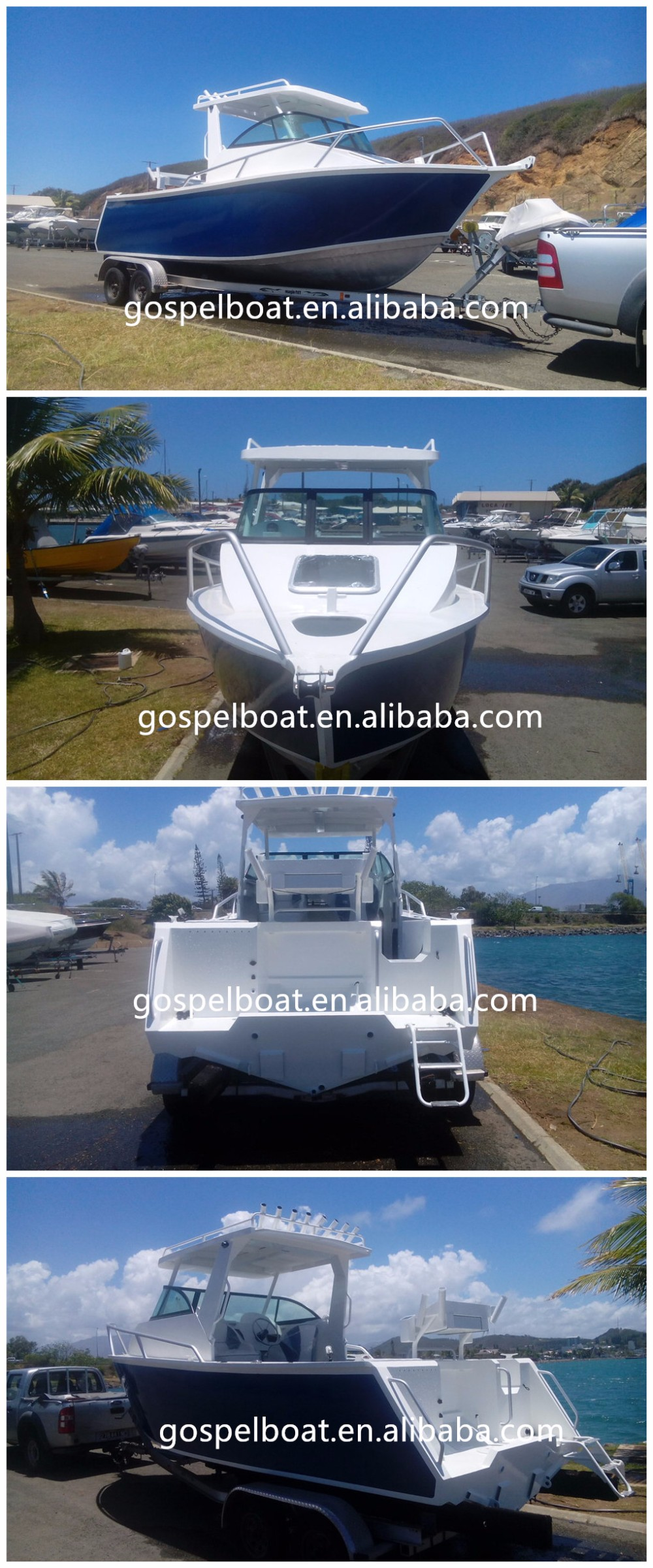 6.25m/21ft Cuddy Cabin Outboard Motor Boats