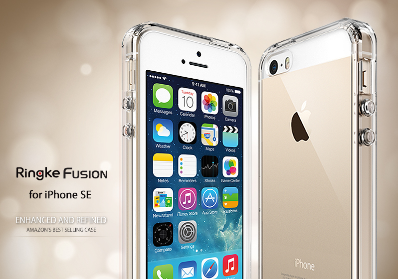 [Ringke] Ringke Fusion Smart Phone Case For iPhone SE