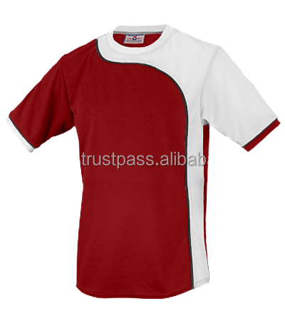 New pattern 100 polyester sports t shirts with wholesale price