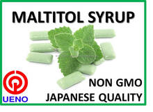 Not too sweet sugar alcohol Maltitol used as natural chewing gum base