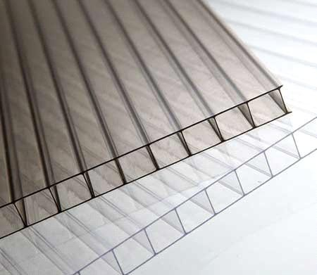 6mm Policarbonato Hollow Sheet for Polycarbonate Skylight