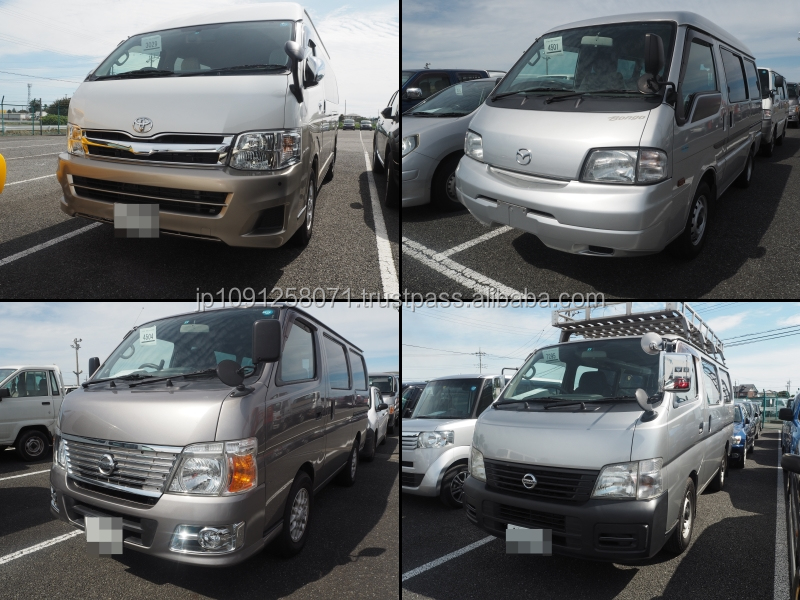 High quality and Reliable used toyota hiace van prices for irrefrangible accept orders from one car