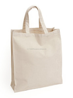 wholesale organic cotton fashion canvas grocery tote shopping bag