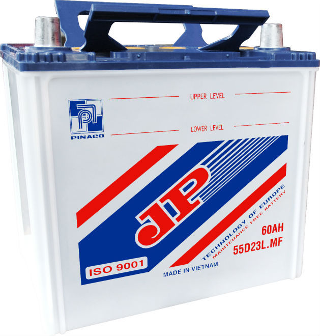 55D23L (12V - 60Ah) Lead acid Battery/Dry charged Battery