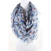 wholesale busy-bird-motif- scarves scarf