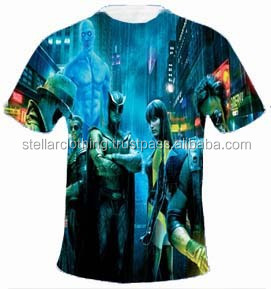 Sublimation T-Shirts, All Over Print Sublimation T Shirts, Get Your Own Designed Shirts In Competitive Prices From India