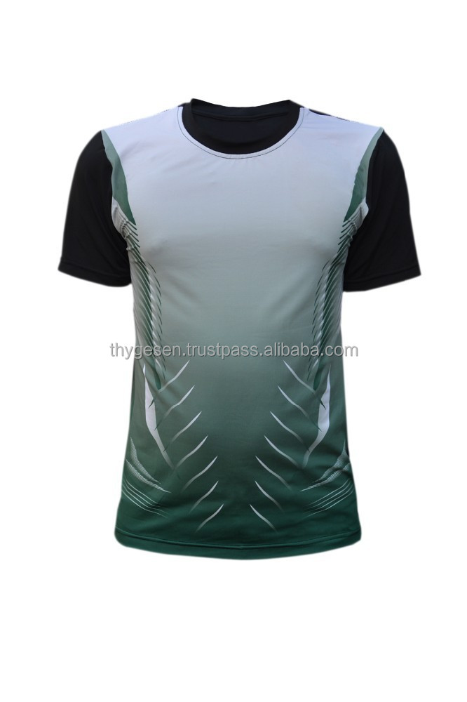 Men sublimation printing t shirt with wholesale price