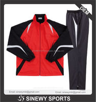 Sports clothing manufacturer men's velour tracksuit set