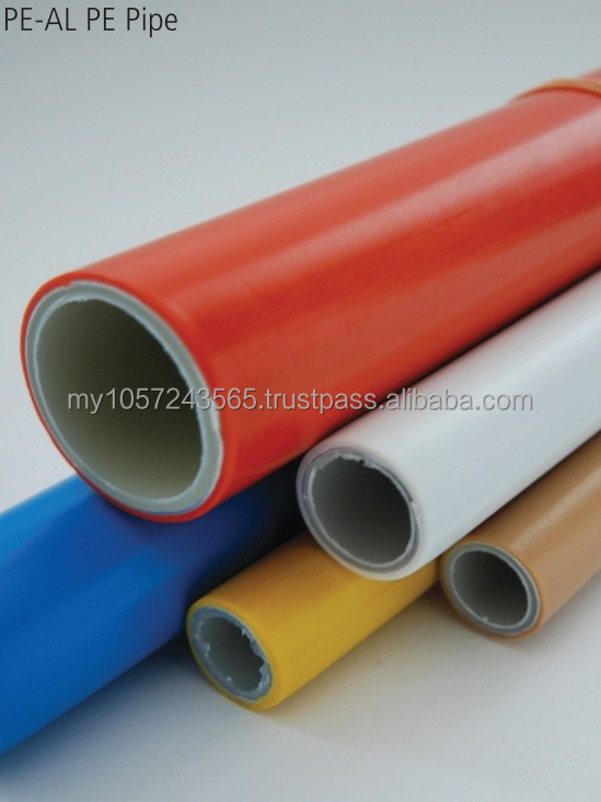 12MM ID:16MM OD PE-Al-PE Multilayer Composite Pipe