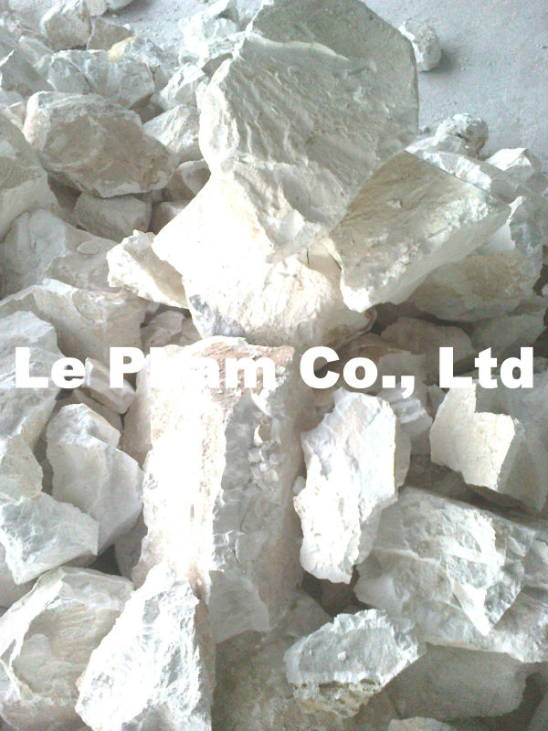 Quick lime best quality CaO > 93% lump size 10 -50 mm