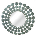 Metal decorative round sheped wall hanging mirrors