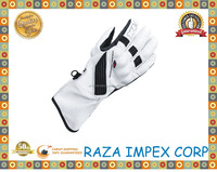 Great Grip Classic Style Motorcycle Gloves / Leather and Textile Material Motorcycle Glove