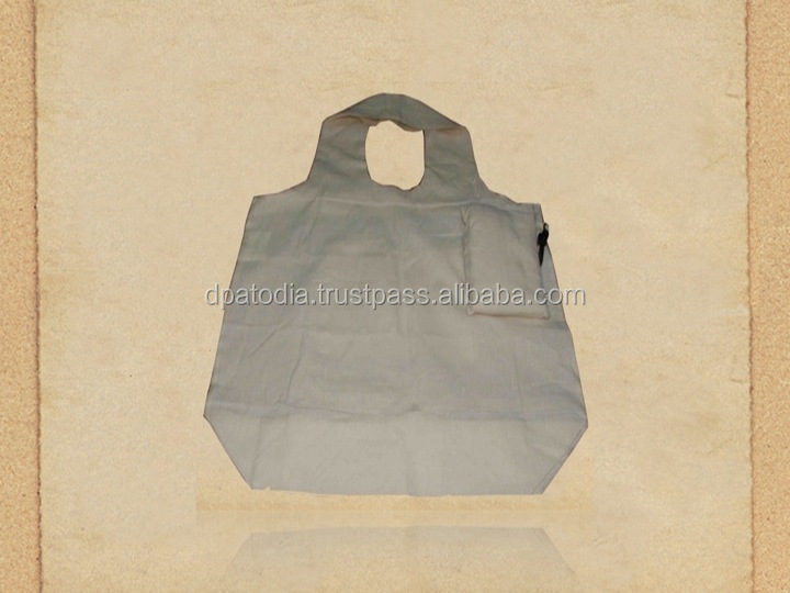 Recycled Organic Canvas Foldable Bag