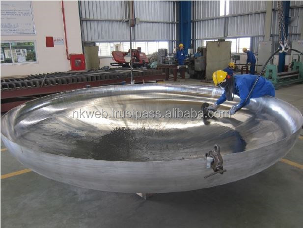 JIS standard well polished stainless steel flange head plates for wholesale