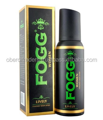 Fogg Fresh Deodorant Lively Black Series For Women, 120ml