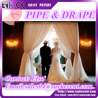 High quality backdrop wedding/photo studio backgrounds used pipe and drape for sale