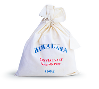 Cotton Bag, Bath Salt