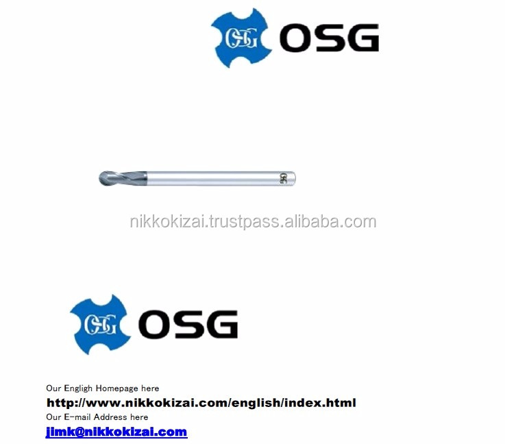 Suitable for making mold for plastic mobile phone case made in japan end mill for OSG at good price on alibaba usa