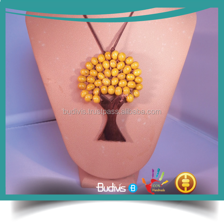 Best price In Handmade Tree of Life Seed Beads Necklace