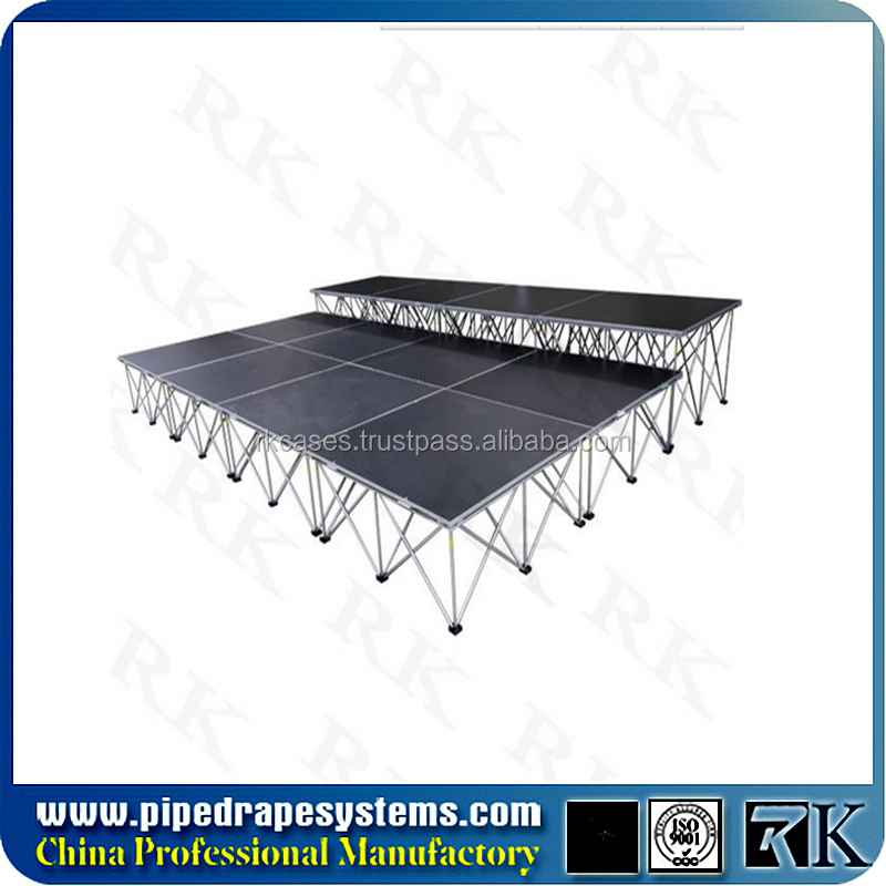 outdoor aluminum protable stage platform with factory price for entertainment stage