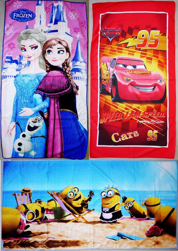 Wholesale Kids Bath Beach Cartoon Towel 70x140cm