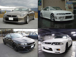 Durable and High quality used cars nissan GT-R for irrefrangible accept orders from one car