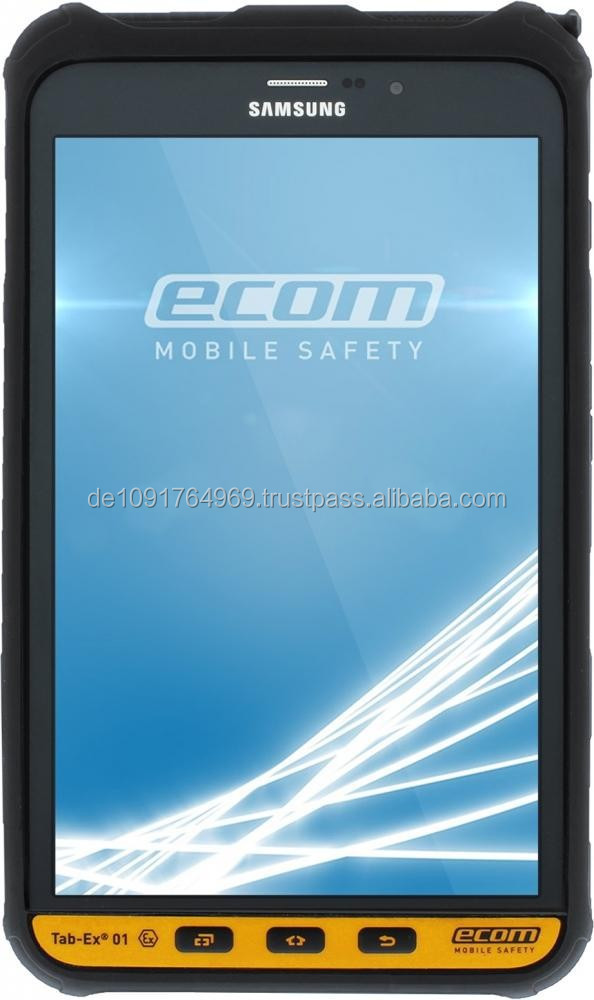 "Tab-Ex 01 - World's thinnest tablet computer for use in Zone 2 / DIV 2 - only 13,8 mm / 0.54"" incl. protective case!"