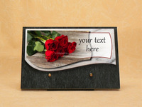 Memorial Plaque engraved - made in France High range