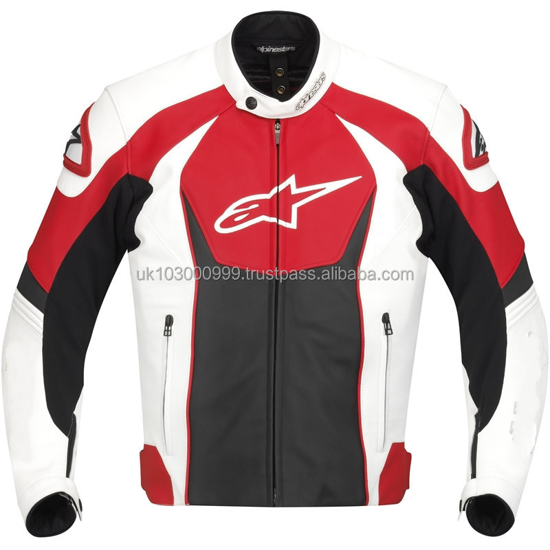 professional Motorcycle Leather Jackets Leather Motorcycle Jacket DG-3011