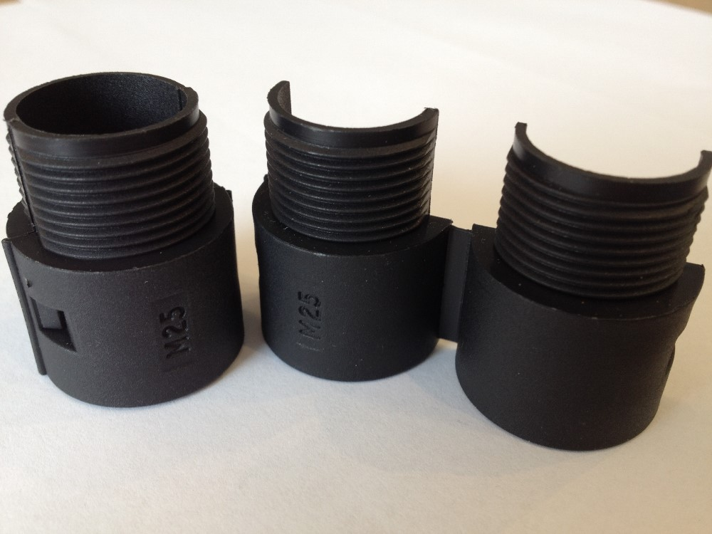 Davico/Eurolok 25mm DPPC type Polypropylene conduit fittings