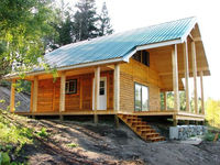 Klondike Timber Frame Cabin