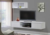 1420 series HiGH GLOSS PAINTED TV CABINET WHITE COLOR