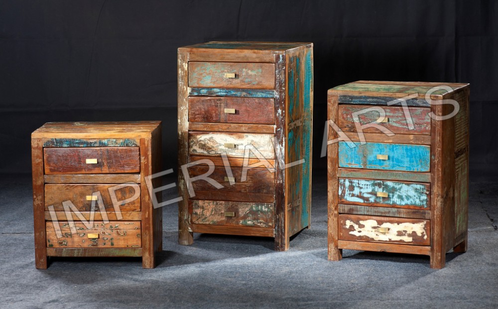 List Manufacturers of Reclaimed Wood Furniture India Buy