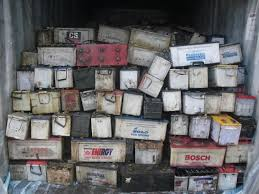 Drained Lead Acid Battery Scrap / Motorcycles and Car batteries !!