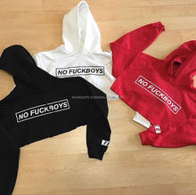 2017 Promotion gift basketball hoodie womens crop top korean hoodie for girl