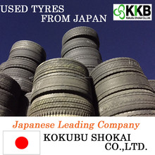 Japanese Premium commercial truck tyres price, casing tire at cost-effective Grade A / B / R-1