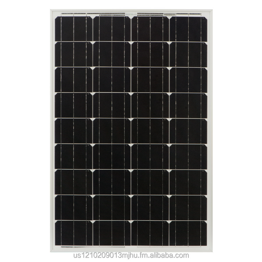 100-Watt Monocrystalline Solar Panel