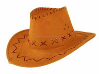 Genuine Cowhide Leather cowboy hats